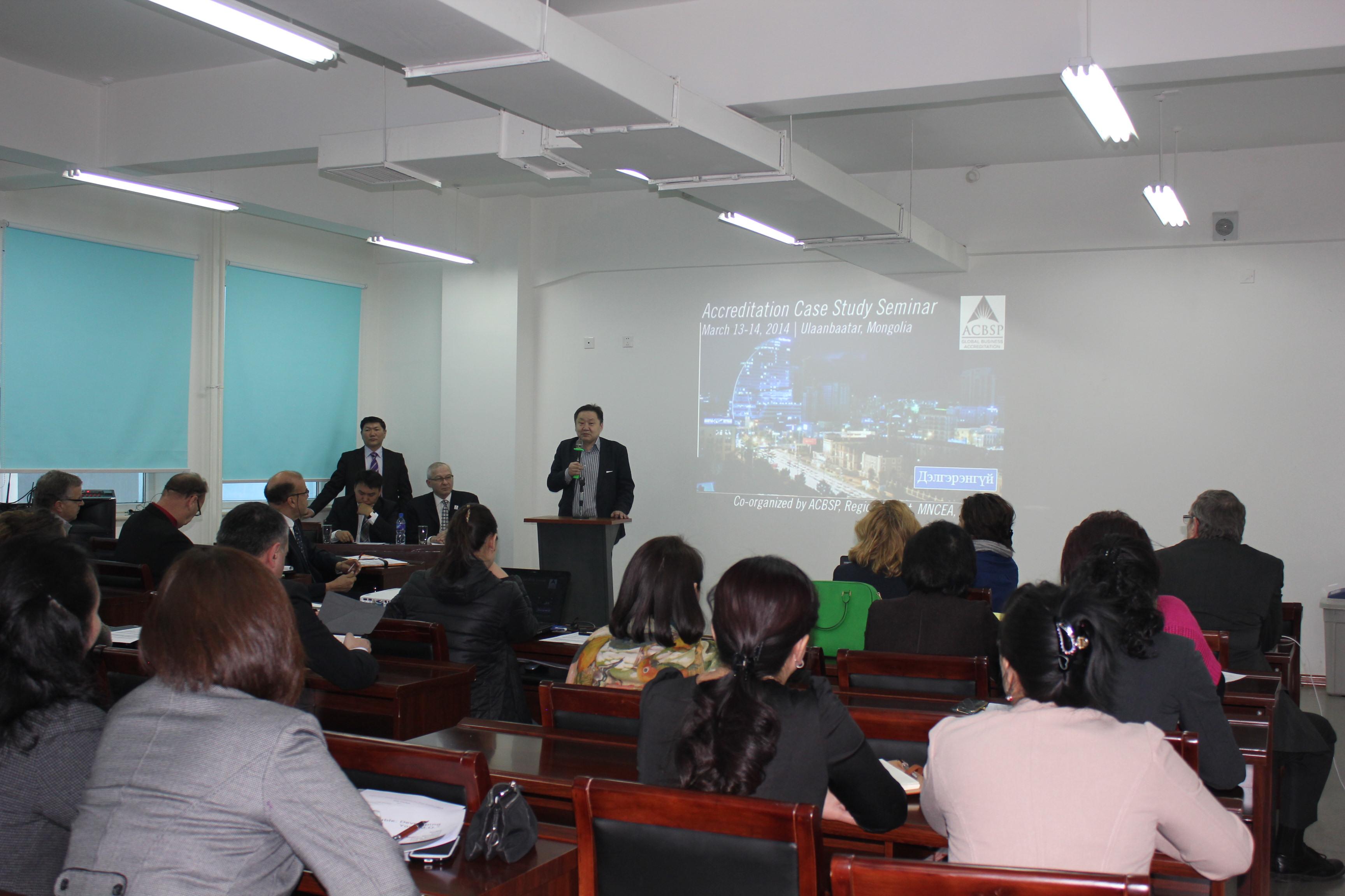 """ACBSP-ийн 8-р бүсийн хурал, """"Олон улсын магадлан итгэмжлэл"""" сургалт Улаанбаатар хотод зохион байгуулагдлаа"""